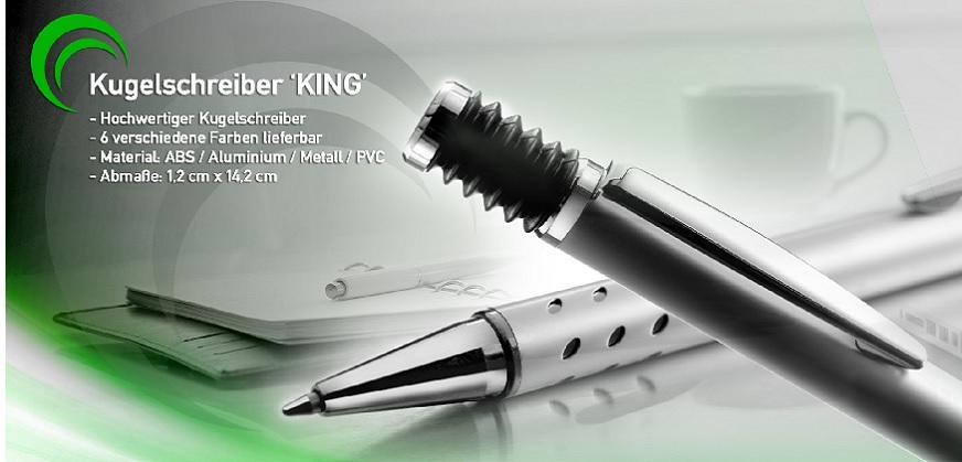 Werbe-Kugelschreiber geringe Mengen