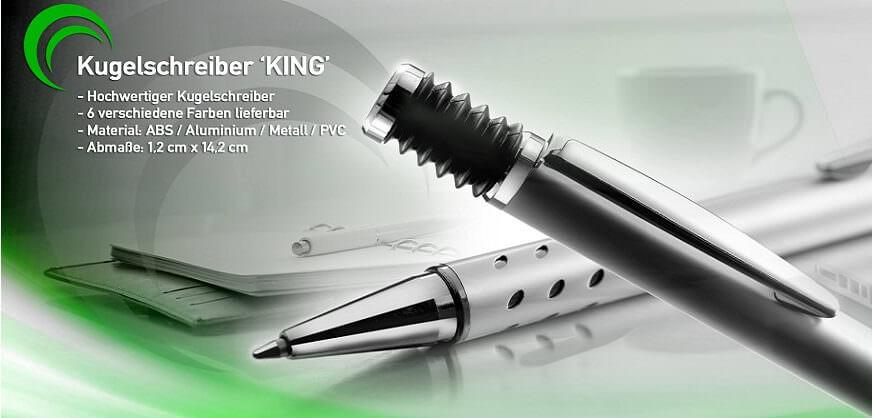Werbe-Kugelschreiber kleine Menge mit Logo bedrucken