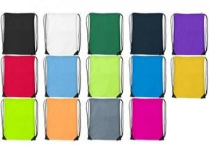 Turnbeutel / Rucksack aus Polyester - 36 Stück inkl. 1-farbiger Druck