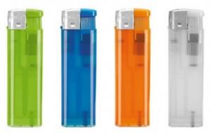 Werbe-Feuerzeug elektronisch - 100 Stück inklusive einfarbiger Druck