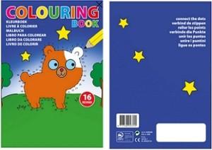Kinder-Malbuch - 50 Stück inklusive einfarbiger Druck