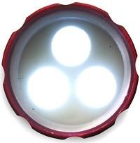 LED-Lampe aus Aluminium - 28 Stück inklusive einfarbiger Druck