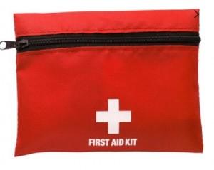 Notfallset, 1.Hilfe-Set inklusive einfarbiger Druck - 28 Stück