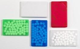 Pfefferminzkarte Werbeset - 60 Stück inklusive einfarbiger Druck