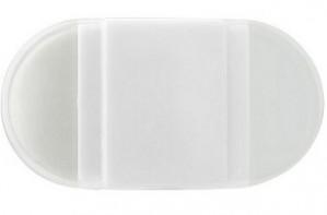 Radierummi mit Spitzer - 100 Stück inklusive einfarbiger Druck