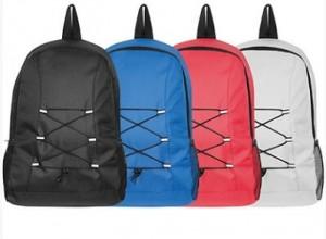 Rucksack in vielen Farben - 15 Stück inklusive einfarbiger Druck