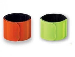 Snap-Armband - Sicherheitsarmband einfarbig bedruckt - 100 Stück im Werbeset