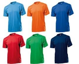 STEDMAN  T-Shirt  - 10 Stück inklusive Bestickung