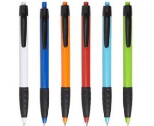Werbe-Kugelschreiber FLORENCE inklusive Druck auf dem Schaft