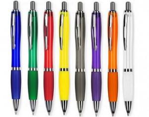 Kugelschreiber mit Metallclip ab geringe Mengen mit Logo