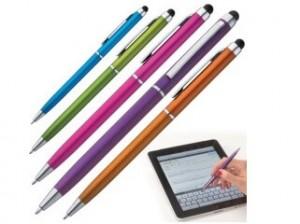 Werbe-Sparset Kugelschreiber mit Touchpad inklusive Druck Logo