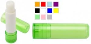 Lippenbalsam in vielen Farben als Werbemittel