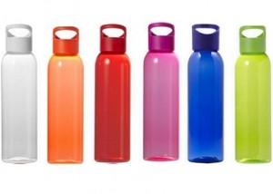 Wasser-Trnkflasche in vielen Farben mit Logo bedruckt ab geringe Mengen