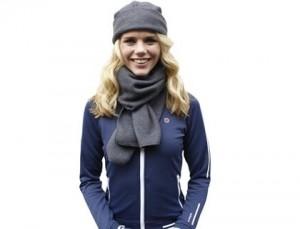 Werbeartikel Schal und Mütze aus Fleece